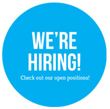 We are hiring - Check out our positions