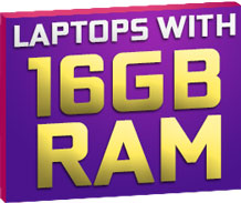 Laptop Deals with 16GB RAM