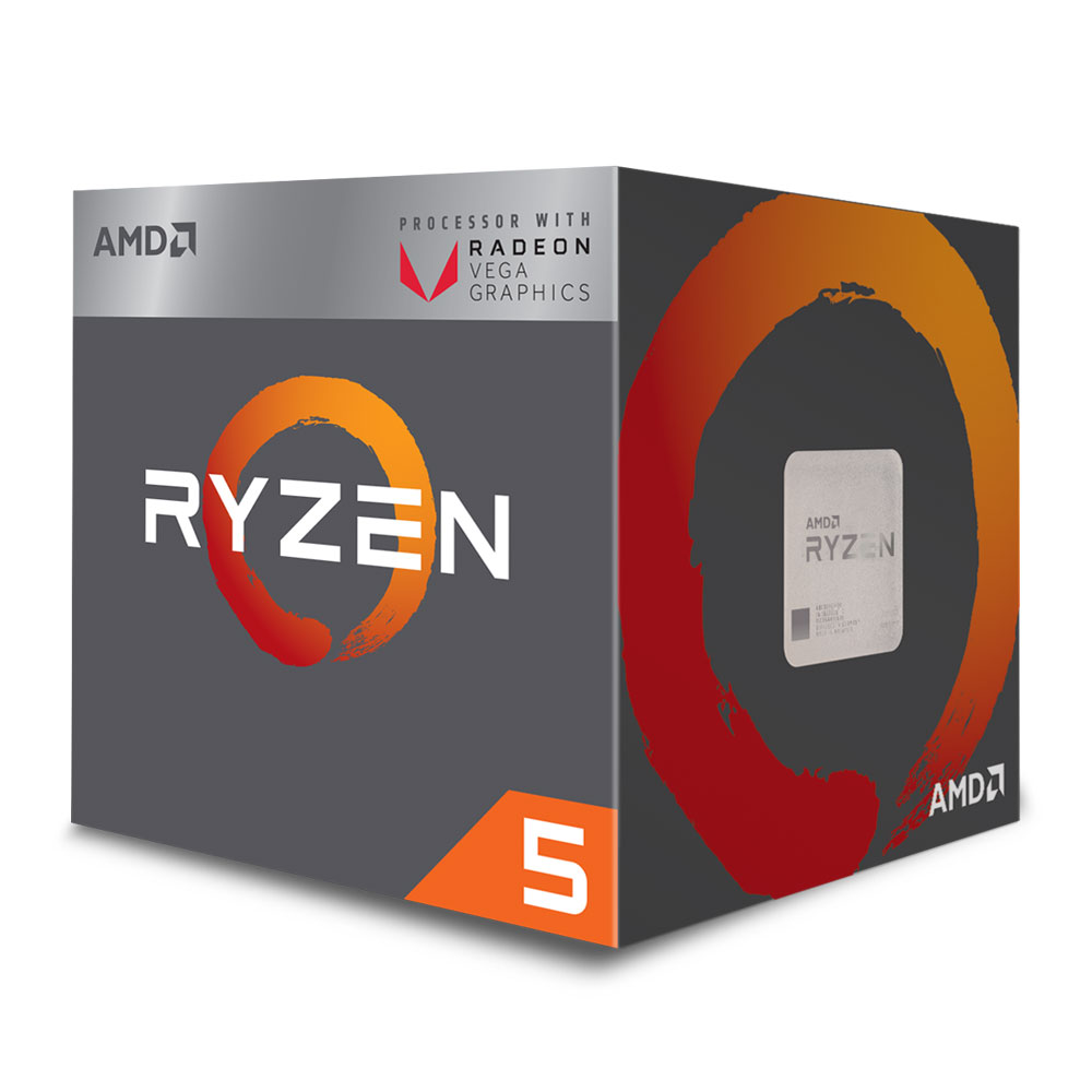 AMD RYZEN 5 2400G Budget Upgrade Kit