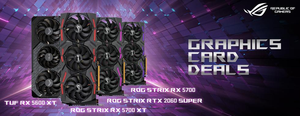 ASUS ROG GPUs