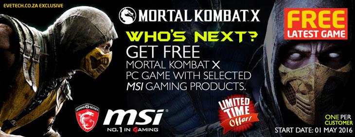 GET FREE Mortal Kombat X PC Game