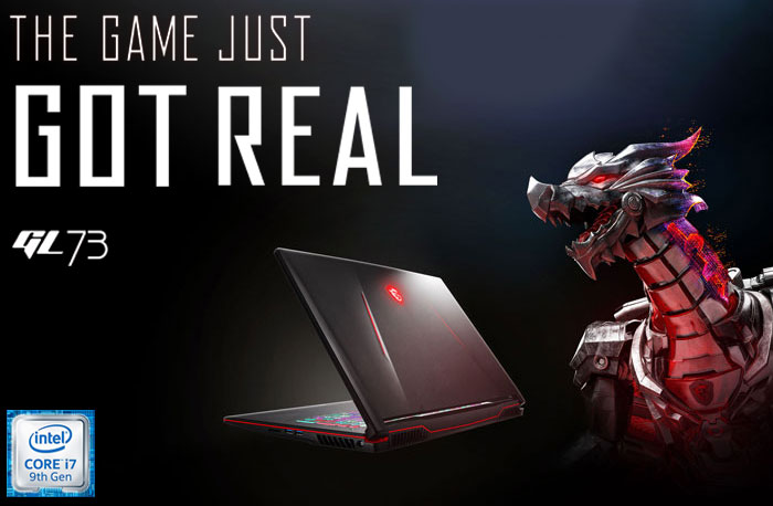 MSI GL73 9SE CORE i7 GAMING LAPTOP DEAL WITH 1TB SSD AND 24GB RAM