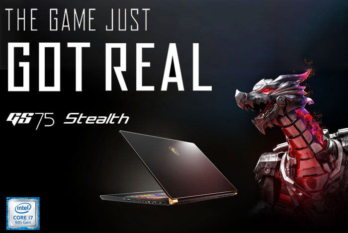 MSI GS75 Stealth 9SF Core i7 RTX 2070 Gaming Laptop Deal