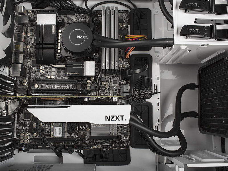 Buy White Nzxt Kraken G10 Gpu Bracket At Evetech Co Za