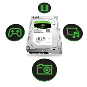 Seagate BarraCuda 10TB HDD