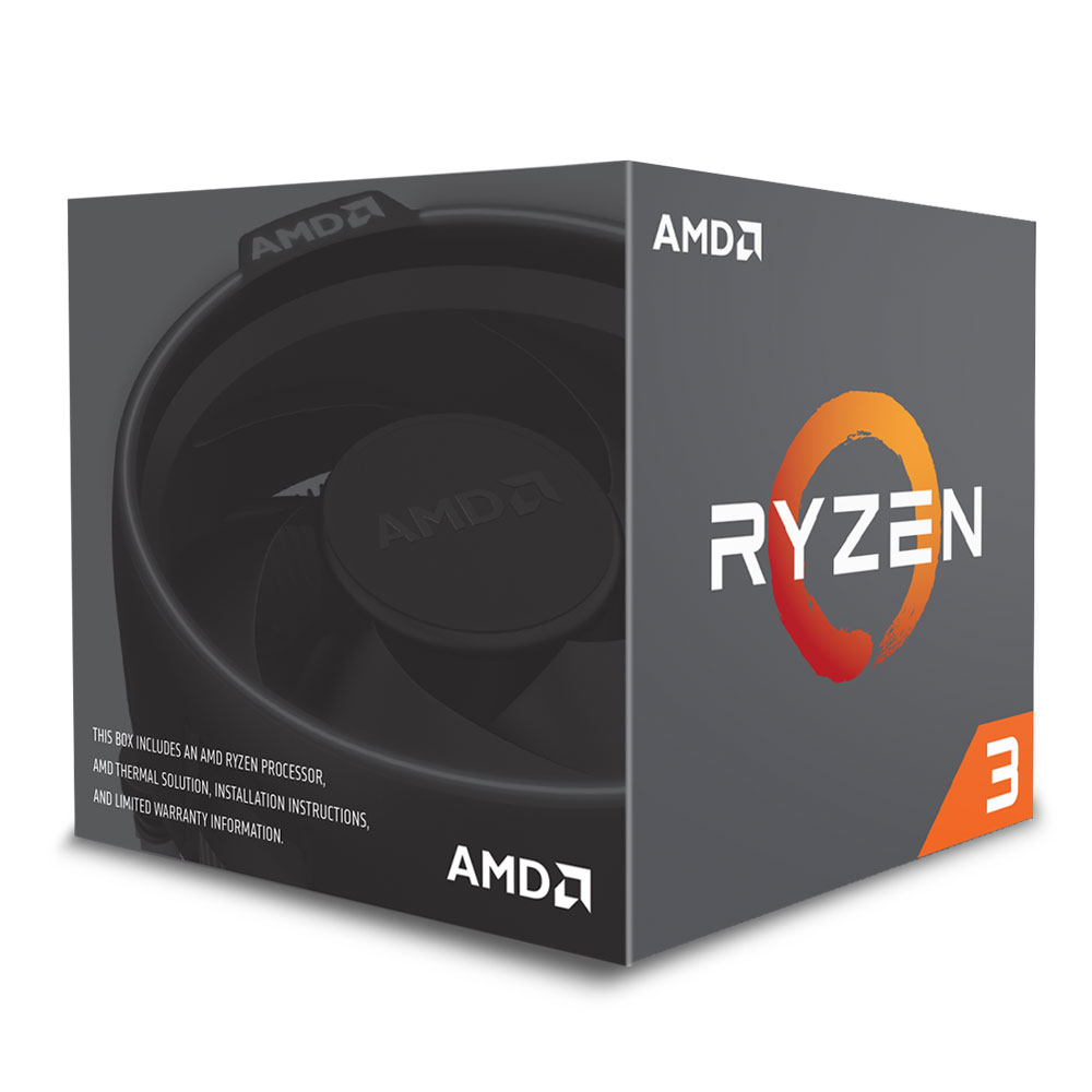 AMD RYZEN 3 1300X  3.7GHz Processor