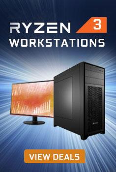 AMD RYZEN 3 Workstation PCs
