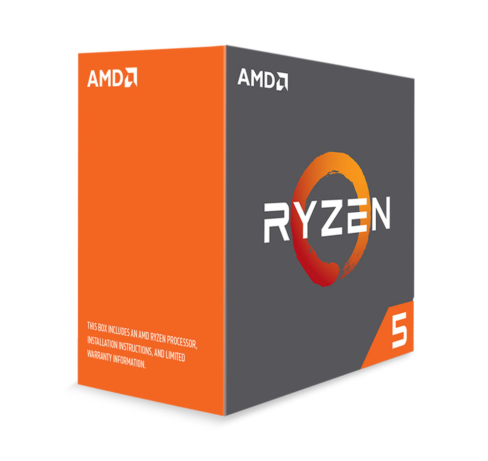 AMD RYZEN 5 1600X Budget Upgrade Kit