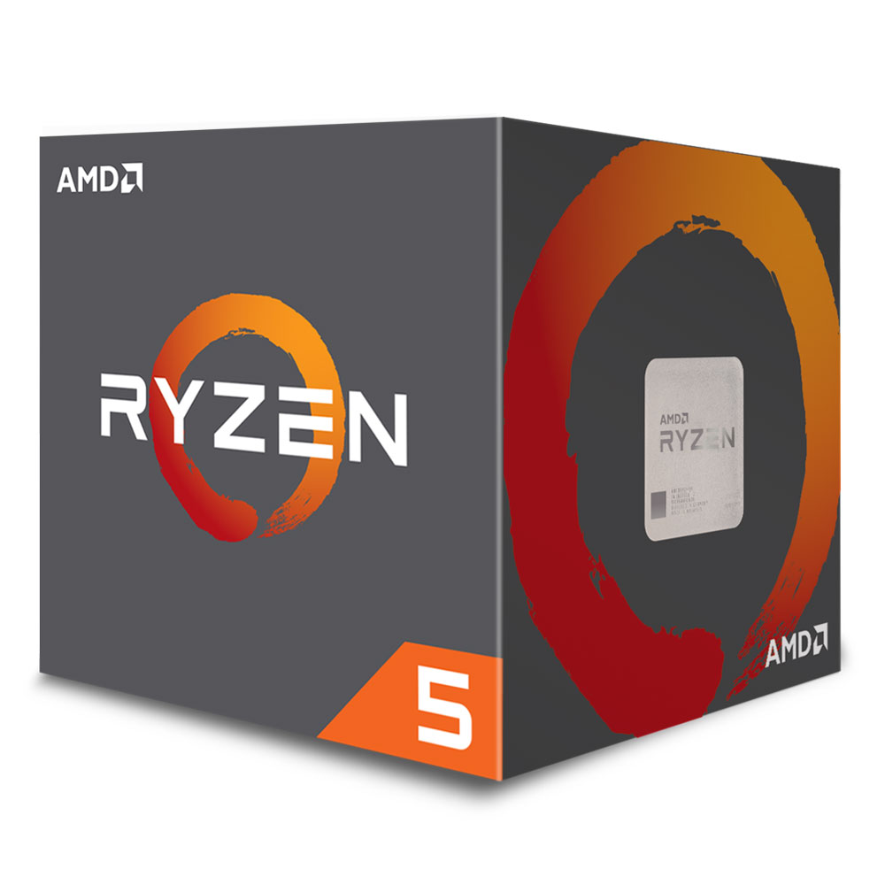 AMD RYZEN 5 2600X 4.2GHz Processor