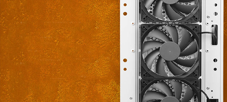 Antec DP502 FLUX White Gaming Case