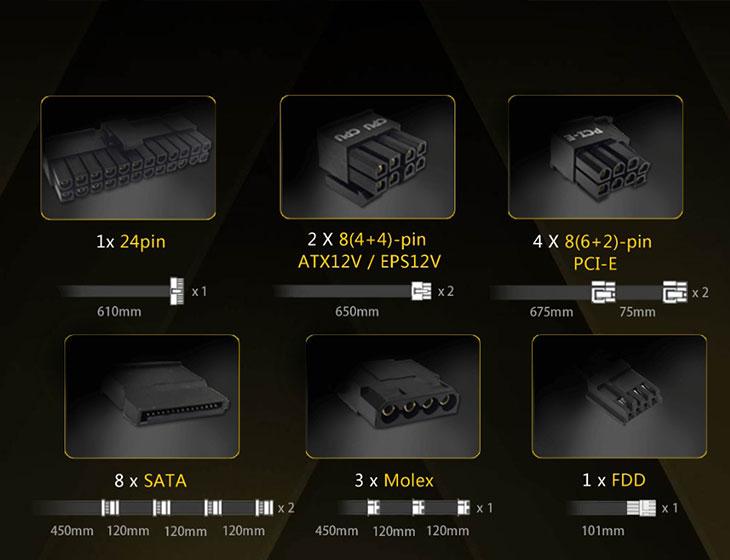 Antec HCG750 750W Gamer Power Supply