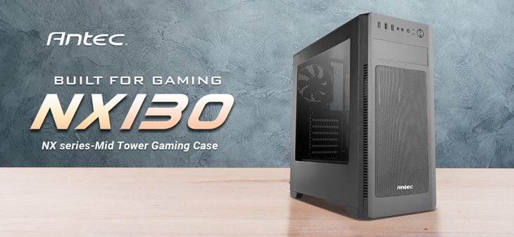 Antec NX130 Mid Tower Gaming Case