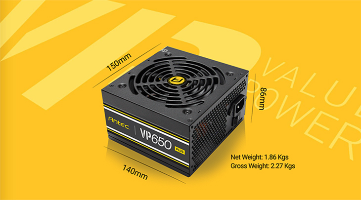 Antec VP650W Plus Power Supply