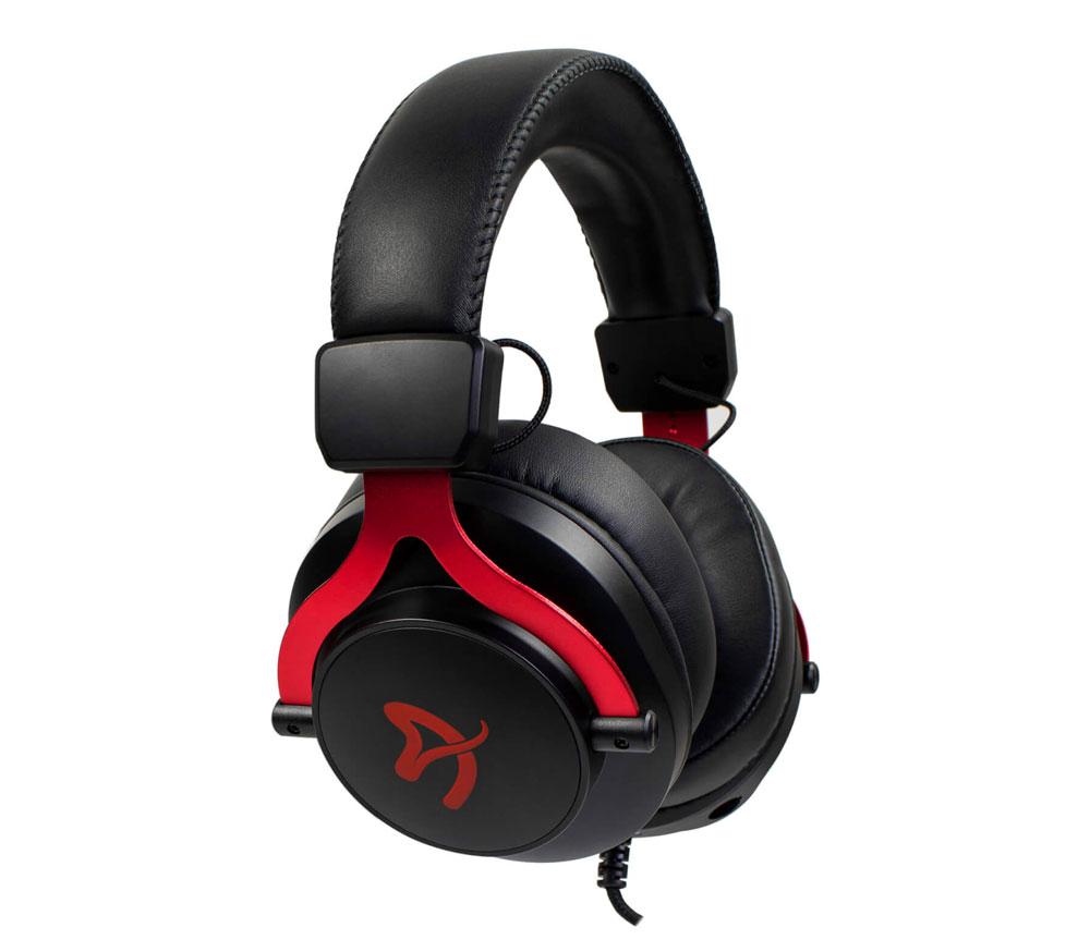Arozzi Aria Gaming Headset - Red