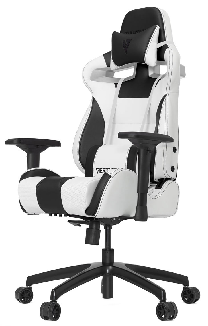vertagear sl4000 gaming chair white black best deal south africa. Black Bedroom Furniture Sets. Home Design Ideas