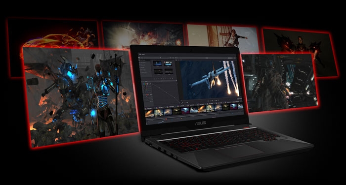 ASUS FX503VD CORE i5 GTX 1050 GAMING LAPTOP WITH 16GB RAM