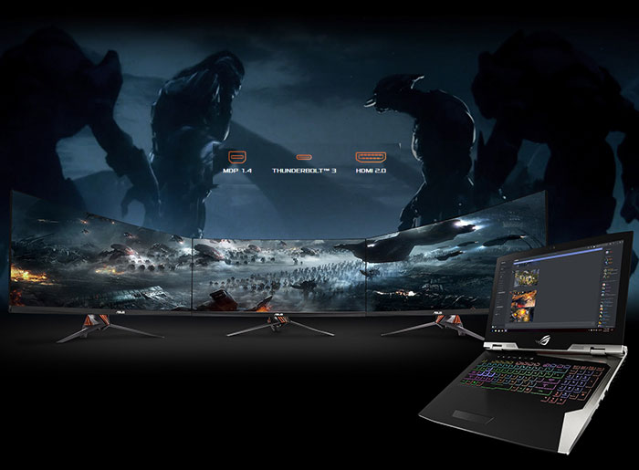 Buy ASUS G703GI Core i7 GTX 1080 Gaming Laptop With 1TB SSD