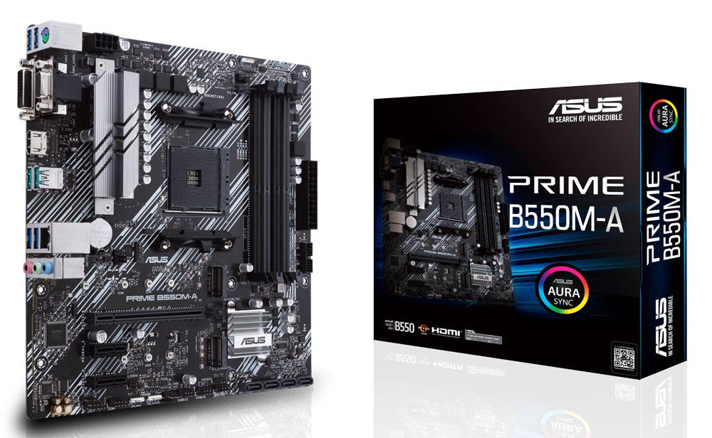 ASUS PRIME B550M-A AMD Ryzen Motherboard