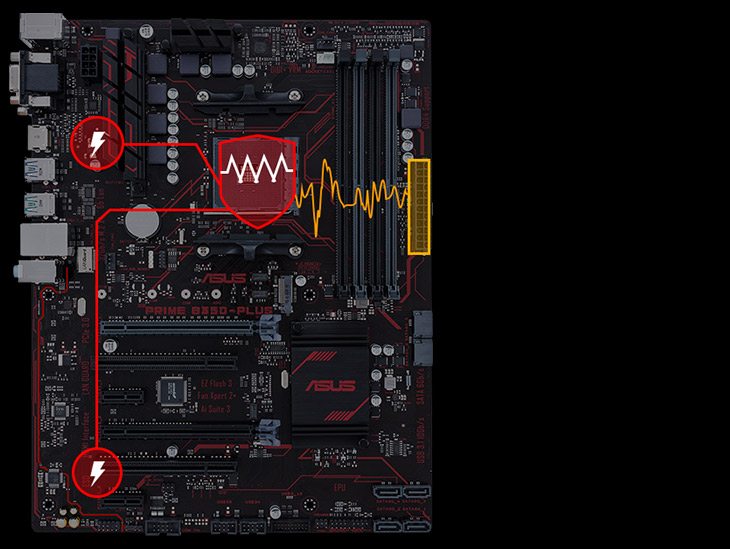Asus PRIME X370-A AMD Ryzen Gaming Motherboard