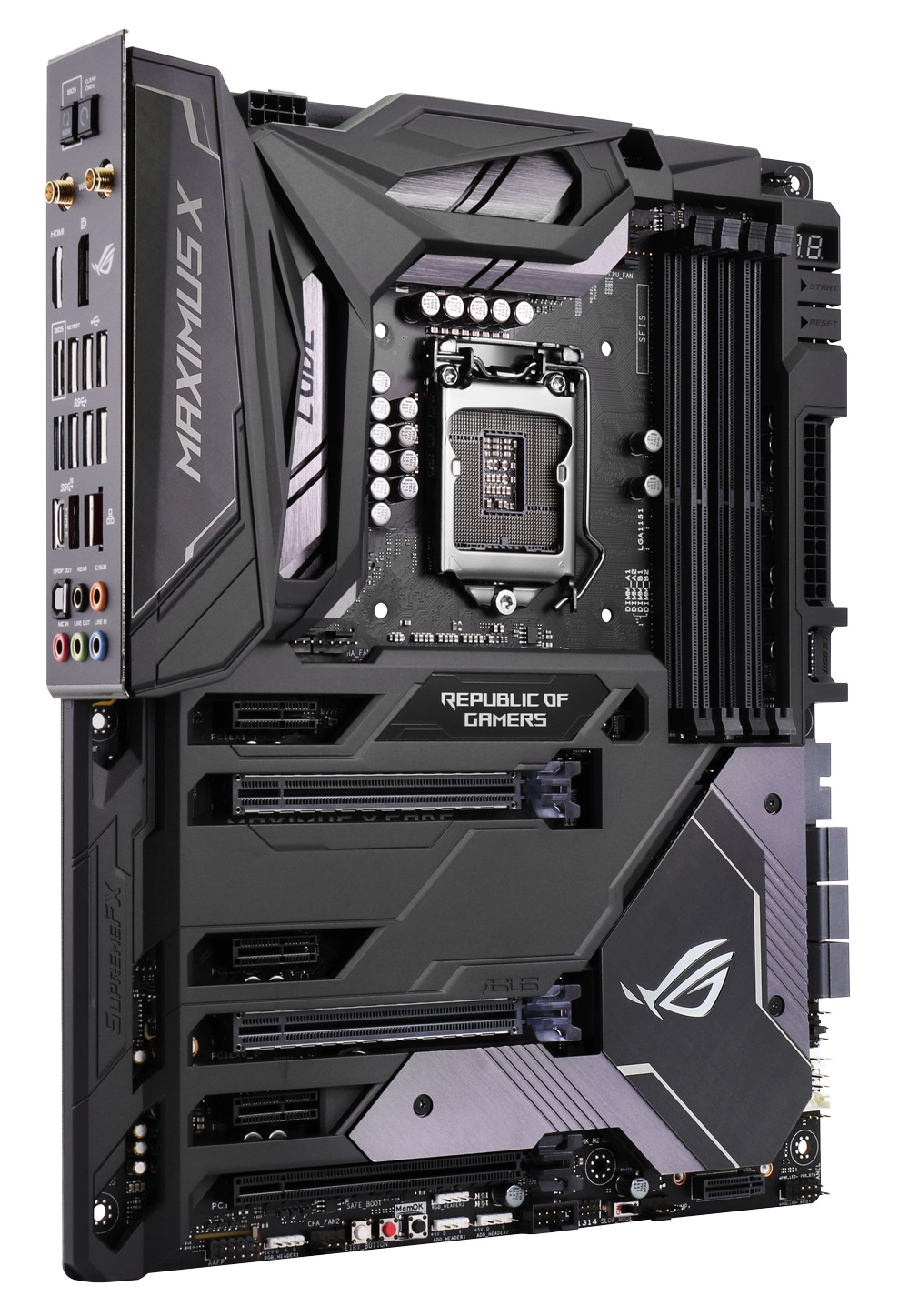 ASUS ROG Maximus X CODE Z370 Motherboard - Best Deal - South Africa