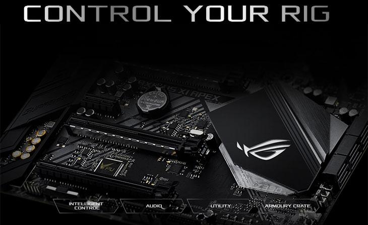 ASUS ROG Maximus XI Apex Intel Motherboard
