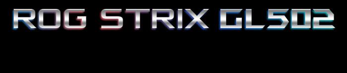 ASUS ROG STRIX GL502 GTX 1060 VR GAMING LAPTOP