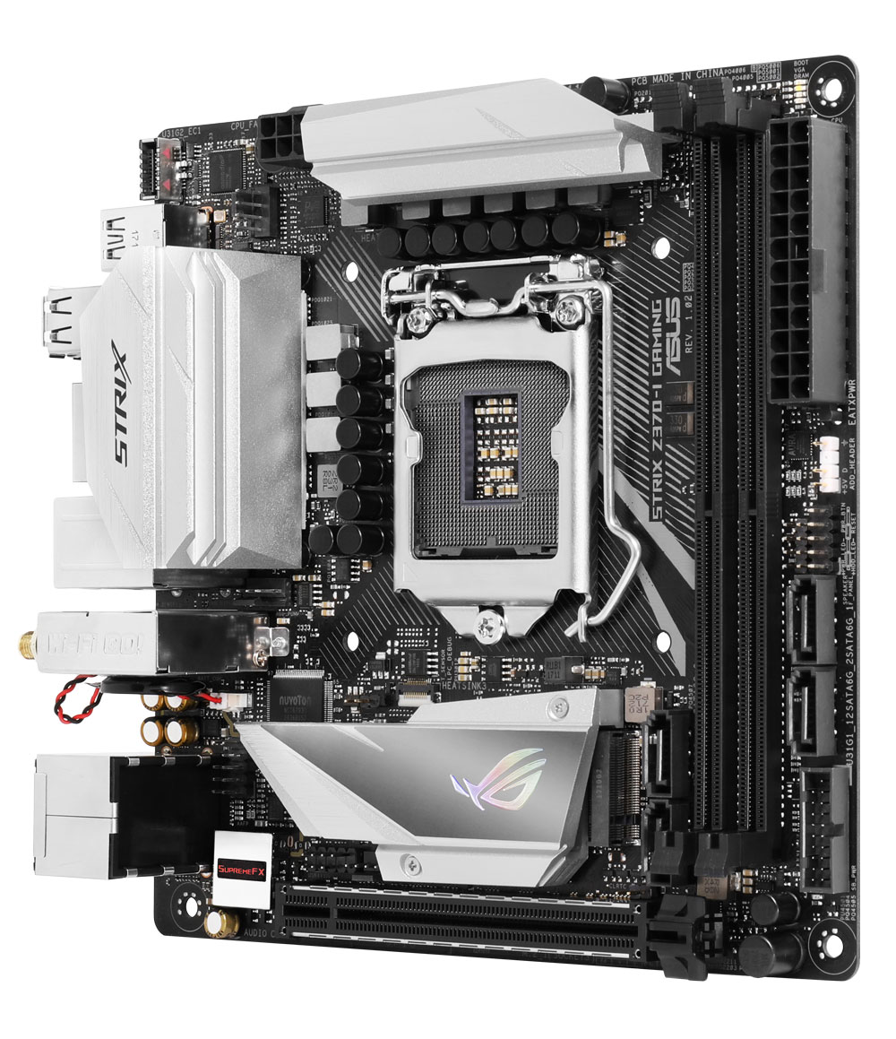 Rog Strix Z370-I Mini ITX Motherboard - Best Deal - South Africa