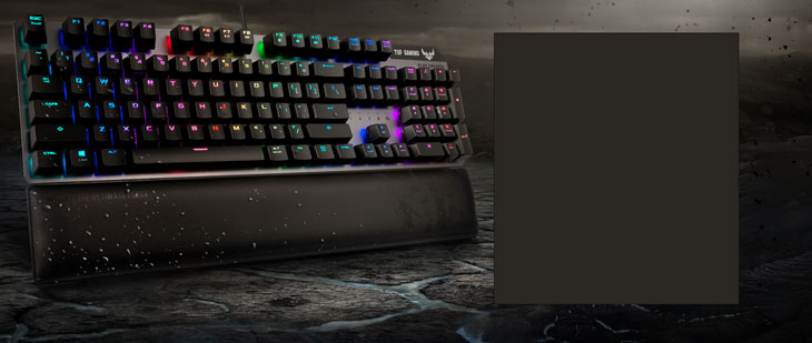 ASUS TUF Gaming K7 Optical Mechanical keyboard