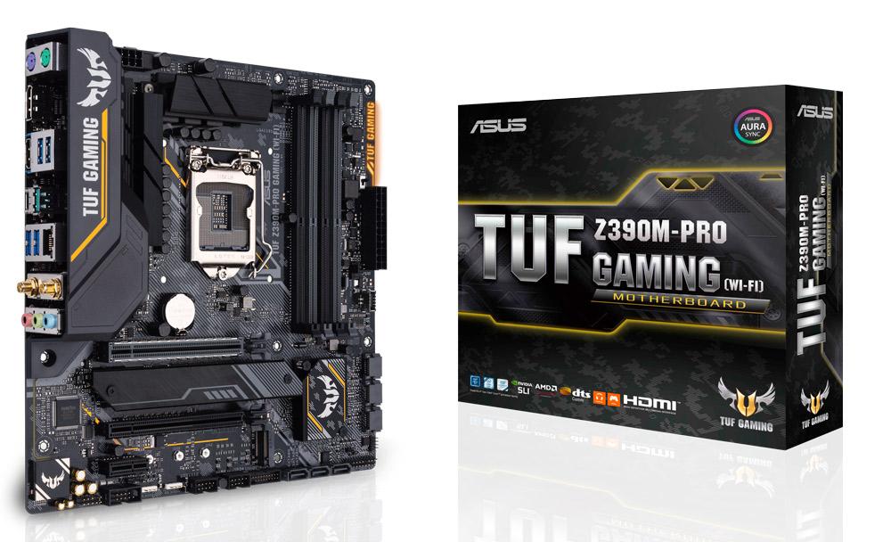 Asus Tuf Z390M-Pro Gaming (Wi-Fi) Intel Motherboard