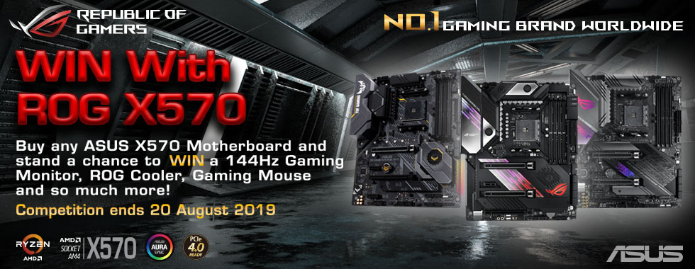 Win with ROG X570