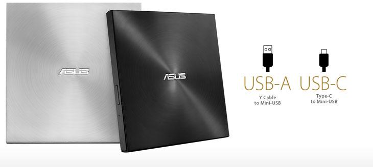 ASUS ZenDrive Slim External DVD Writer