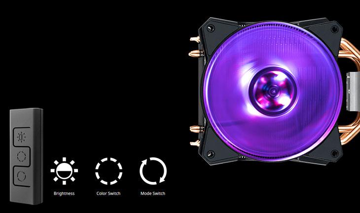 CoolerMaster MasterAir MA410P RGB CPU Cooler