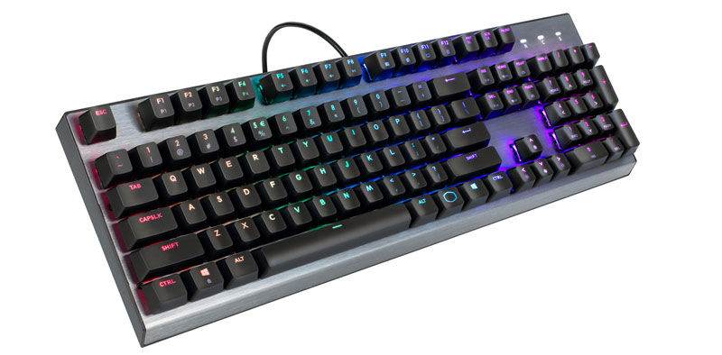 CoolerMaster CK350 RGB Mechanical Keyboard - Brown Switch