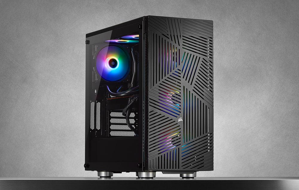 Corsair 275R Airflow Tempered Glass Gaming Case - Black