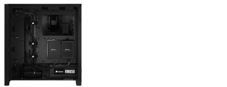 Corsair 4000D Airflow Gaming Case - Black