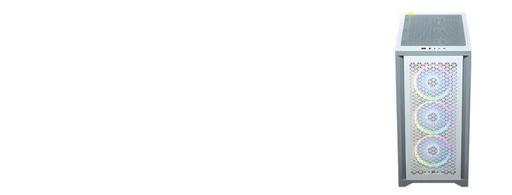 Corsair 4000D Airflow Gaming Case - White