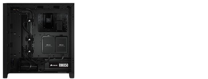 Corsair 4000D Gaming Case - Black
