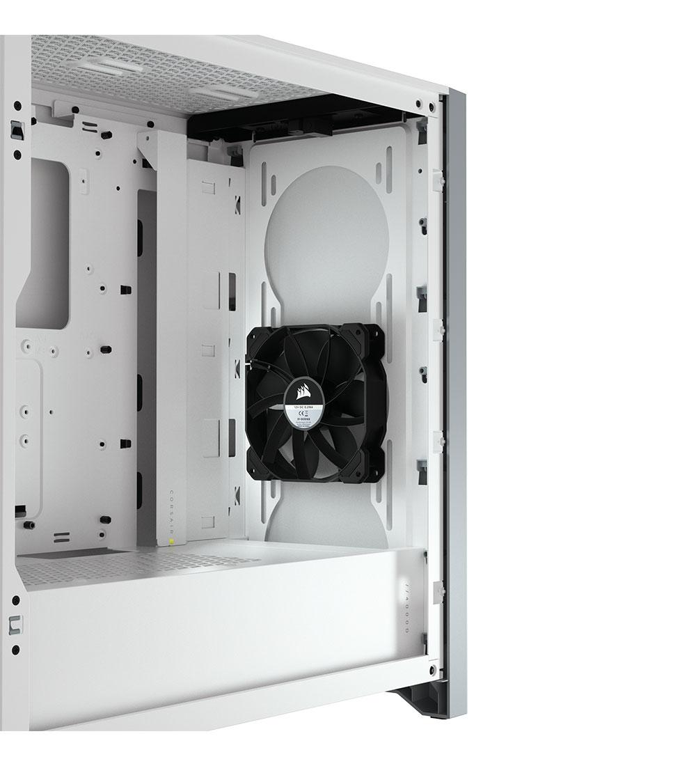Corsair 4000D Gaming Case - White