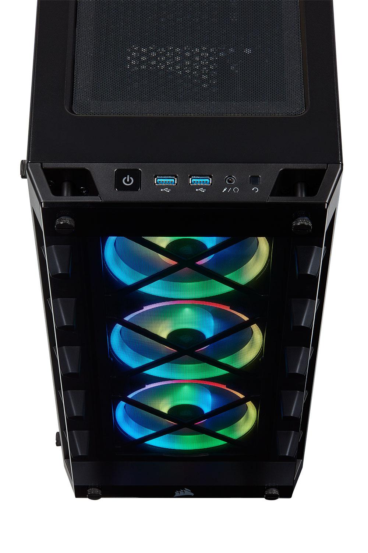 Corsair iCUE 465X RGB ATX Smart Case - Black