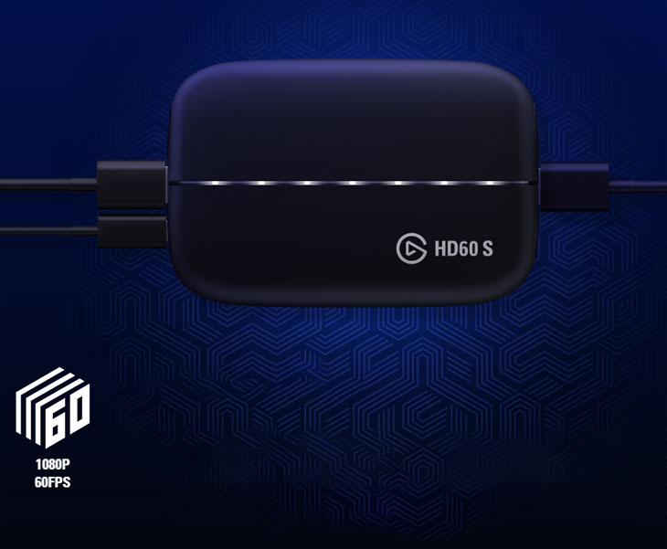 Corsair Elgato HD60 S Game Capture / USB 3 0 Type C Connection /  PlayStation 4, Xbox One, Nintendo Switch / Stunning 1080p Quality With 60  Fps /