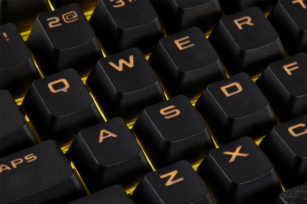 Corsair Gaming PBT Double-shot Keycaps - Black