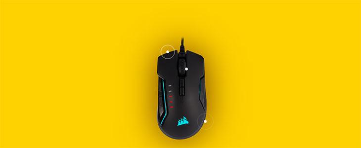 Corsair Glaive RGB Pro Gaming Mouse - Aluminum