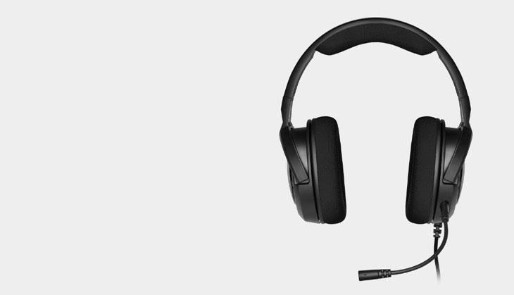 Corsair HS45 7.1 Gaming Headset - Carbon Black