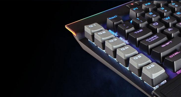 Corsair K95 RGB PLATINUM Mechanical Gaming Keyboard Cherry MX Brown