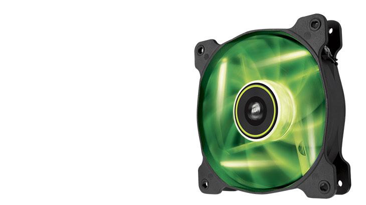 Corsair SP 120 Green LED 120mm Twin Pack Case Fan
