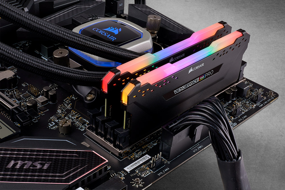 Corsair Vengeance RGB PRO 16GB 3466MHz Black