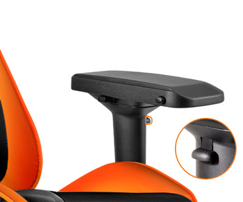 Cougar Armor Gaming Chair Orange