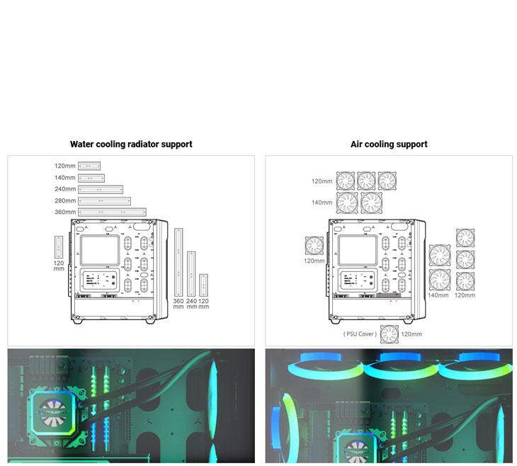 Cougar Gemini S RGB Mid Tower Gaming Case