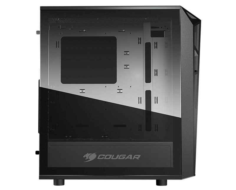 Cougar Turret RGB Tempered Glass Gaming Case