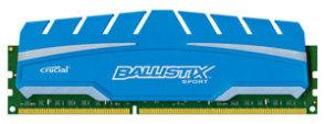 Crucial Ballistix Sport XT DDR3 1866MHz RAM